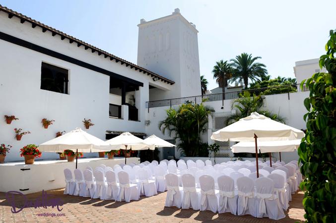 Wedding venue in Spain