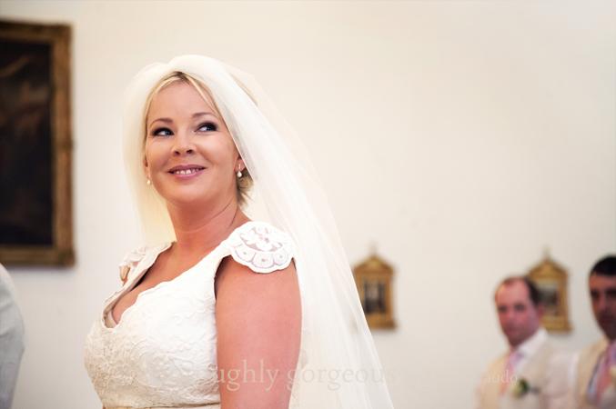 Bride getting married in Spain