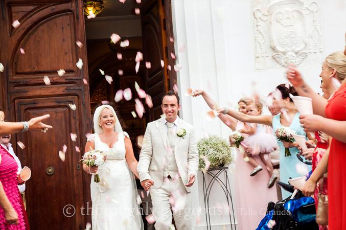 Church wedding in Malaga Spain