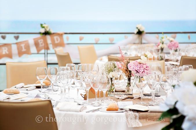 beach wedding venue in Malaga