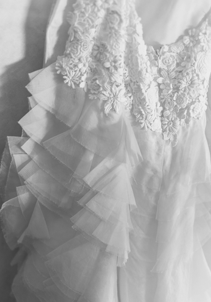 getting married in Spain - brides gown