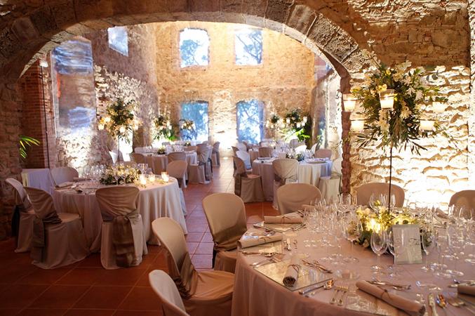 rustic wedding venue in Barcelona
