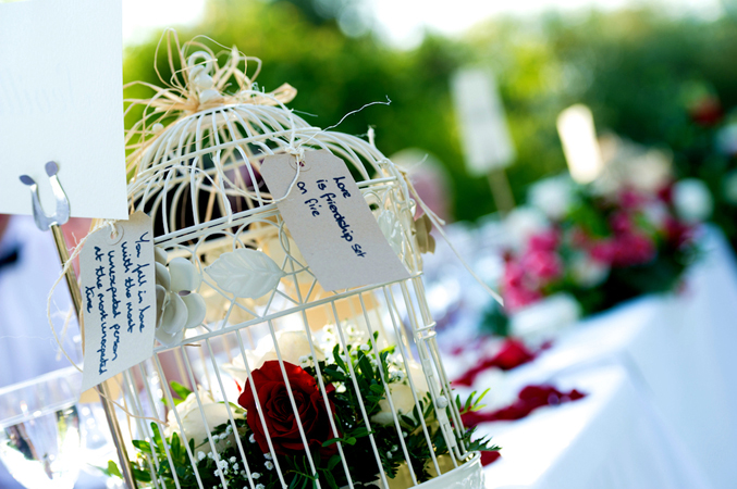 Floral design for your wedding venue in Spain