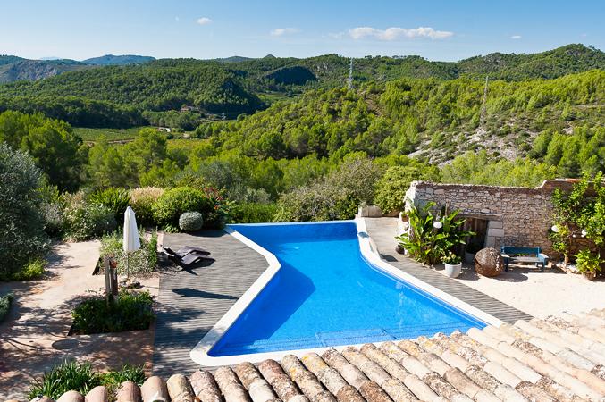 rural country villa wedding venue in Barcelona