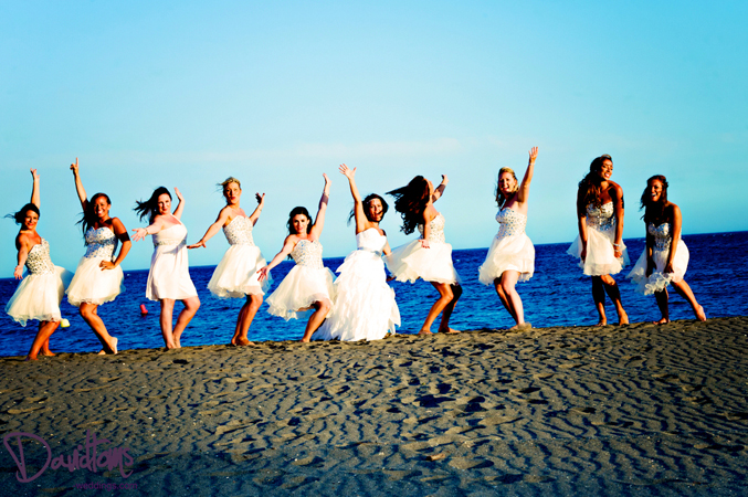 Beach wedding in Spain