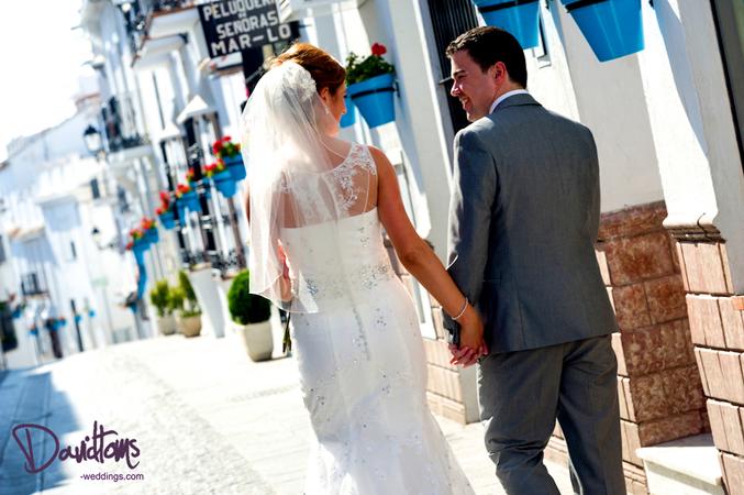 Authentic wedding in Spain
