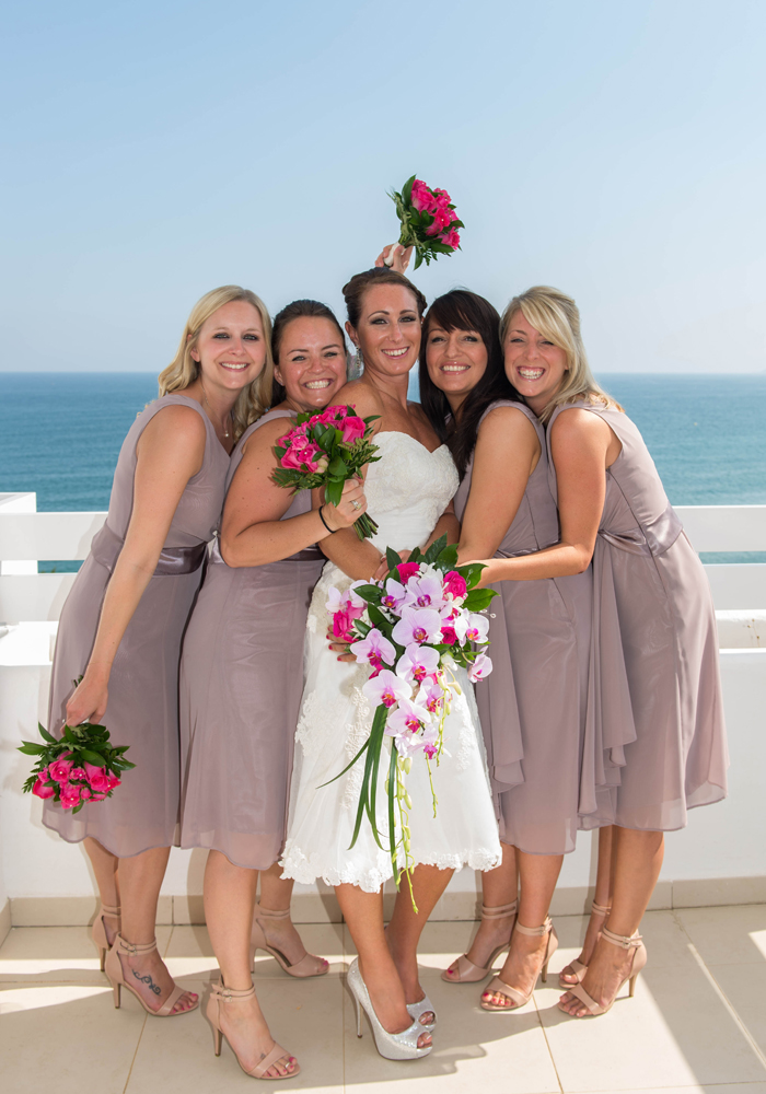 bride-with-her-bridesmaids-at-her-beach-wedding-in-Estepona,-Spain