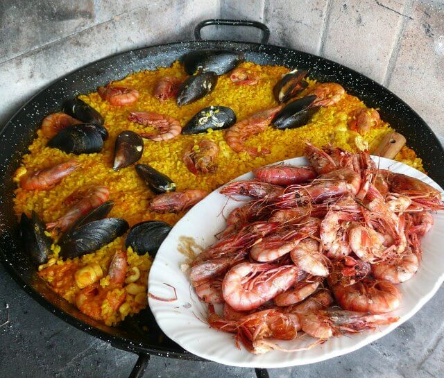 Spanish Wedding Food Paella