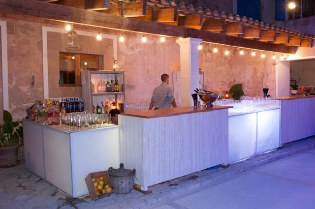 MAllorca wedding bar