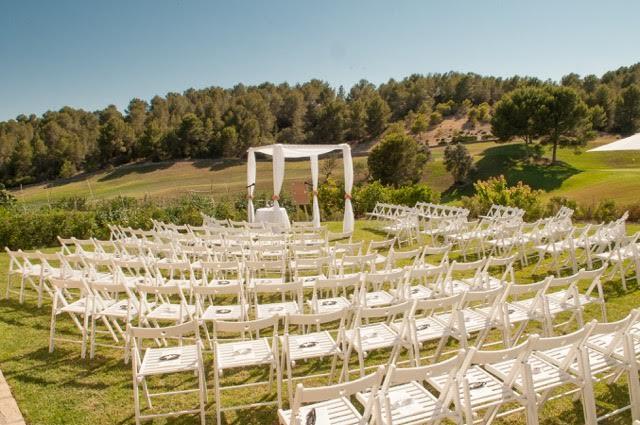 Mallorca wedding venue ceremony area