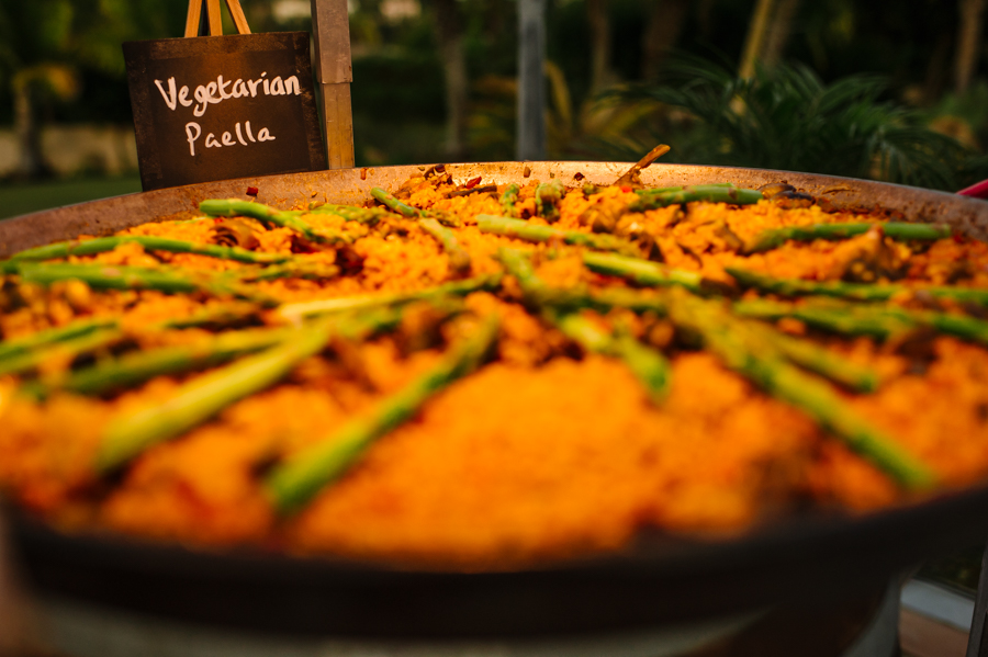 Vegetarian food at Indian wedding in Spain 001