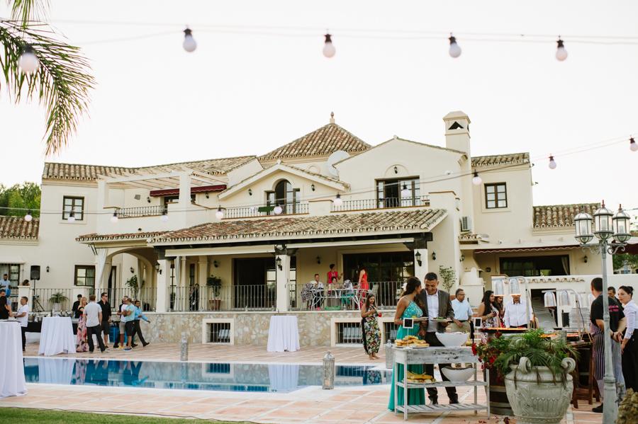 Indian villa wedding in Spain