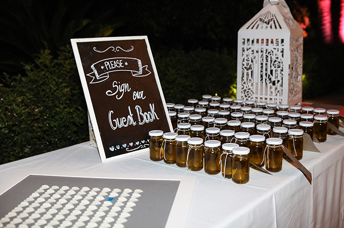 Wedding Guest book and favours, Mallorca