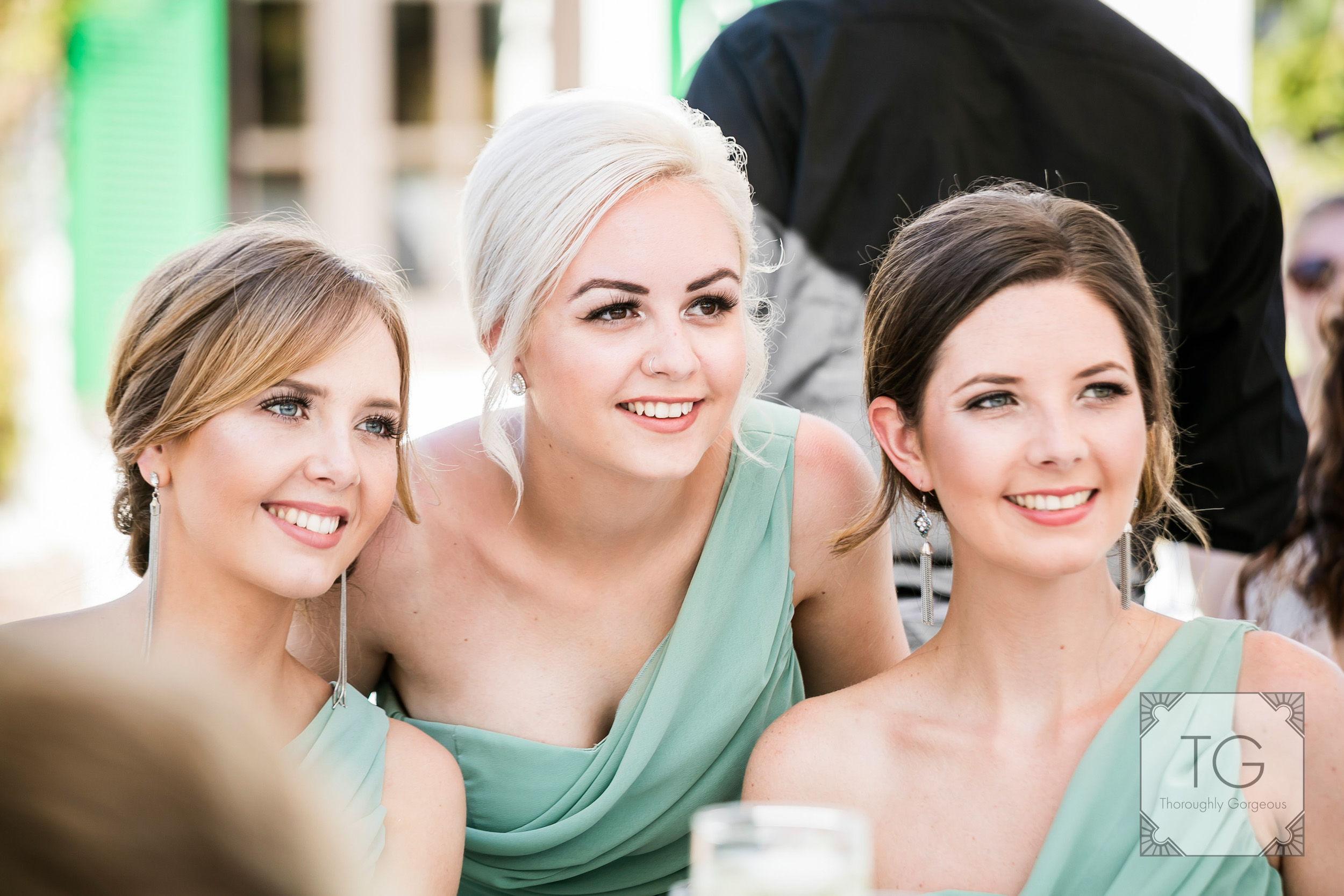 Villa Wedding Brdemaids