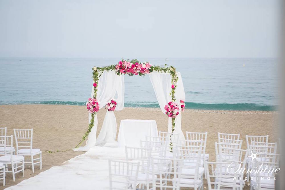 Spanish Beach Wedding Venue