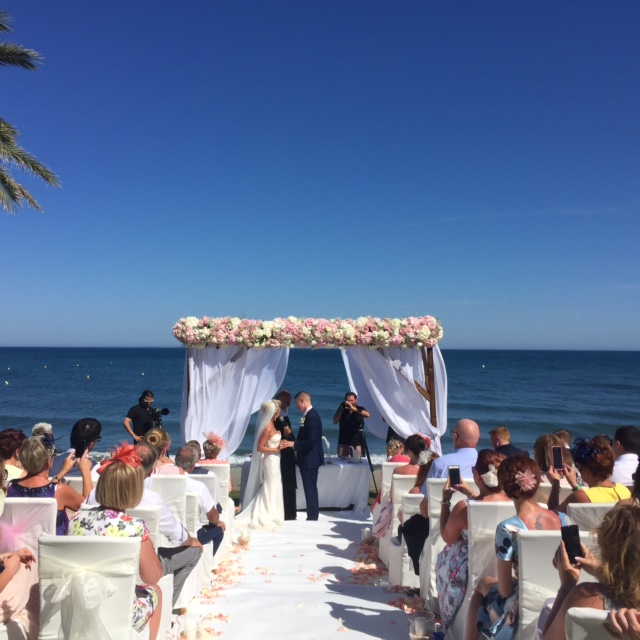 Wedding on Beach