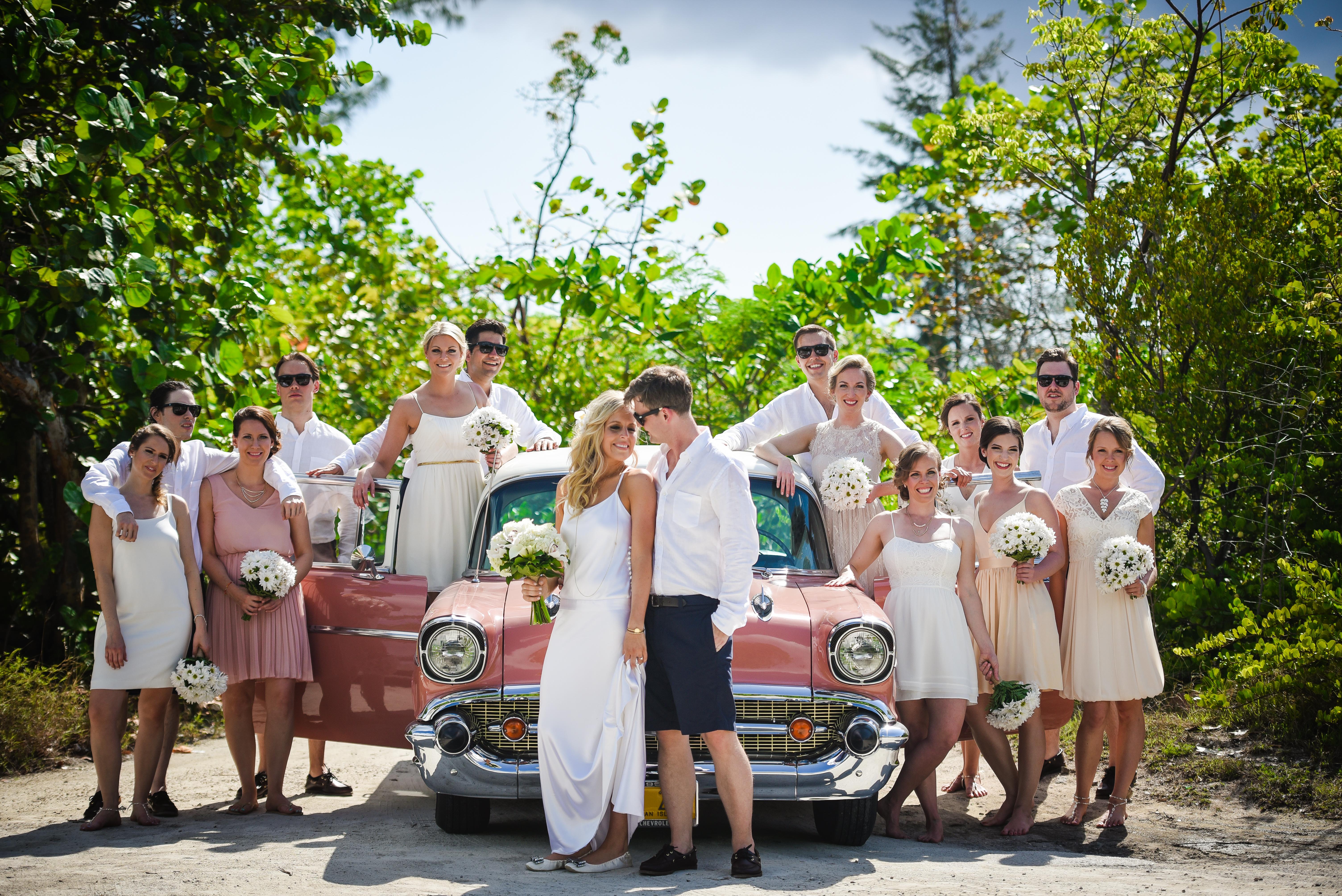 Bridal Car Fun Image