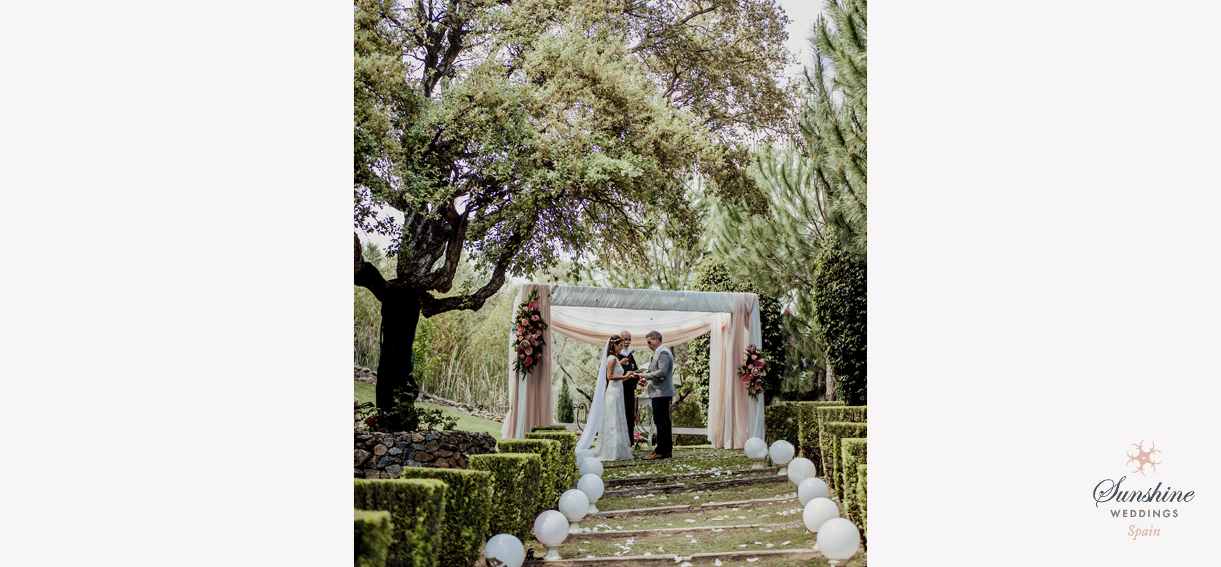 Rustic Finca Villa Wedding
