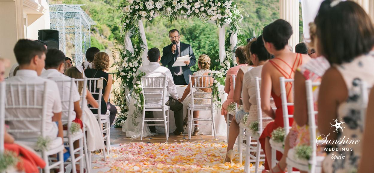 Rustic Spanish Wedding