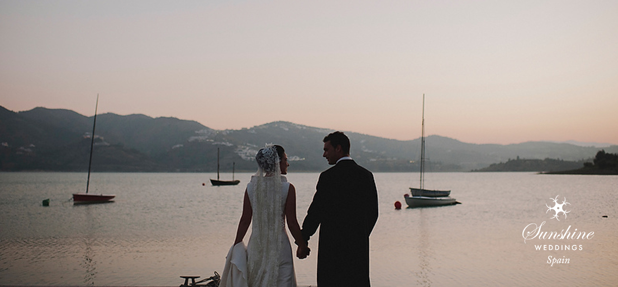 Lakeside Spanish Wedding Ceremony