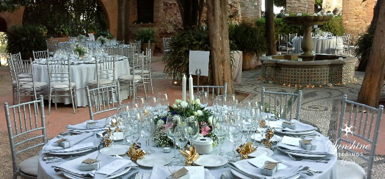 Malaga castle wedding