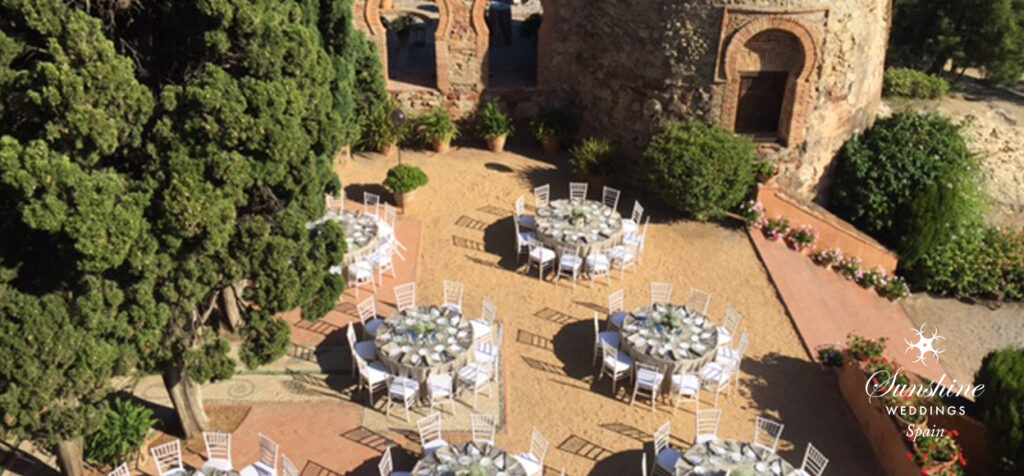 Spanish Wedding Set Up