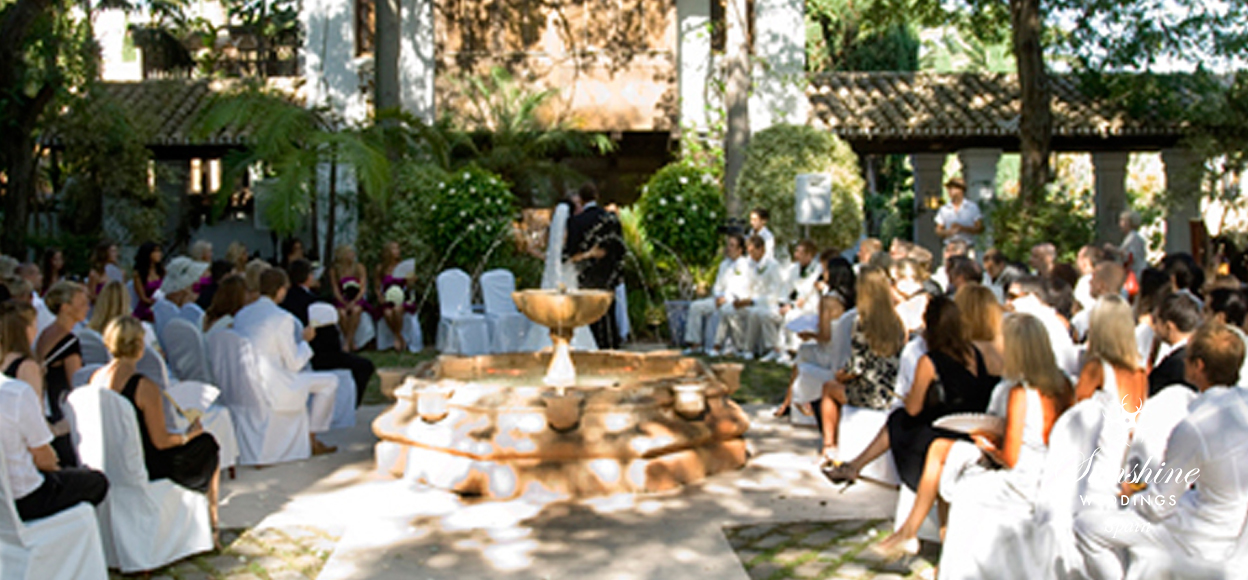 Wedding Villa ceremony Spain