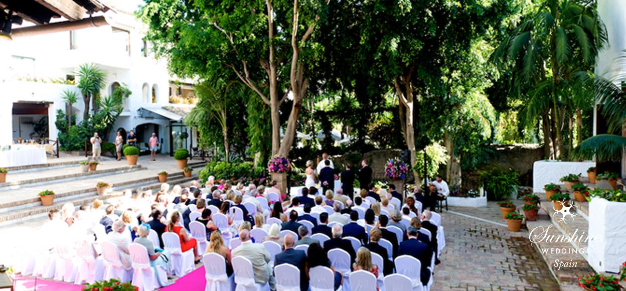 Wedding Villa ceremony Spain