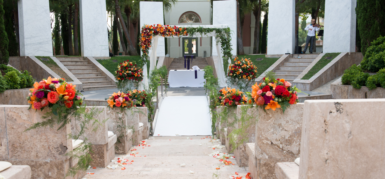 Rustic wedding Spain