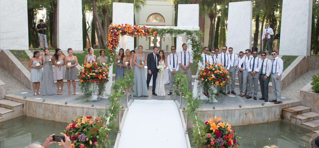 Rustic wedding Spain