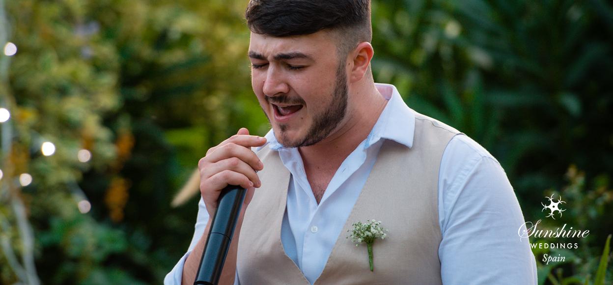 Villa Wedding Malaga Singer