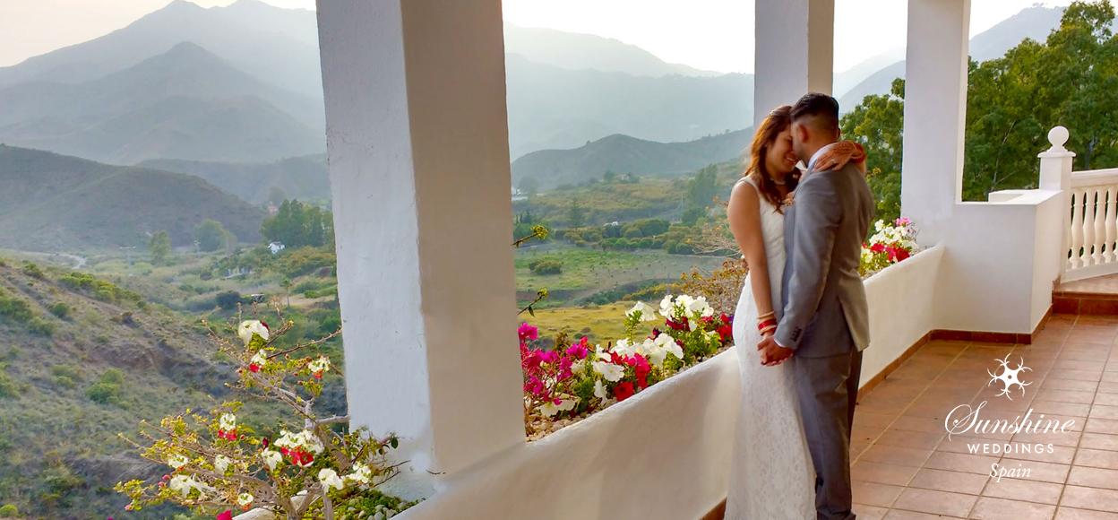 Villa wedding Spain