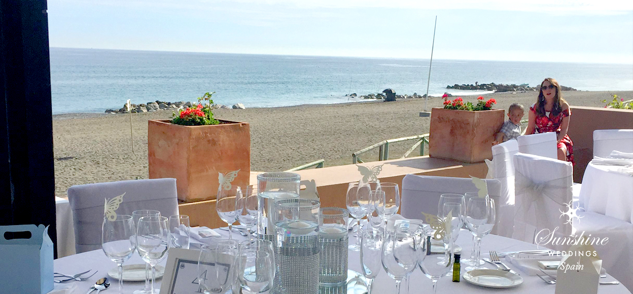 Beach wedding Spain