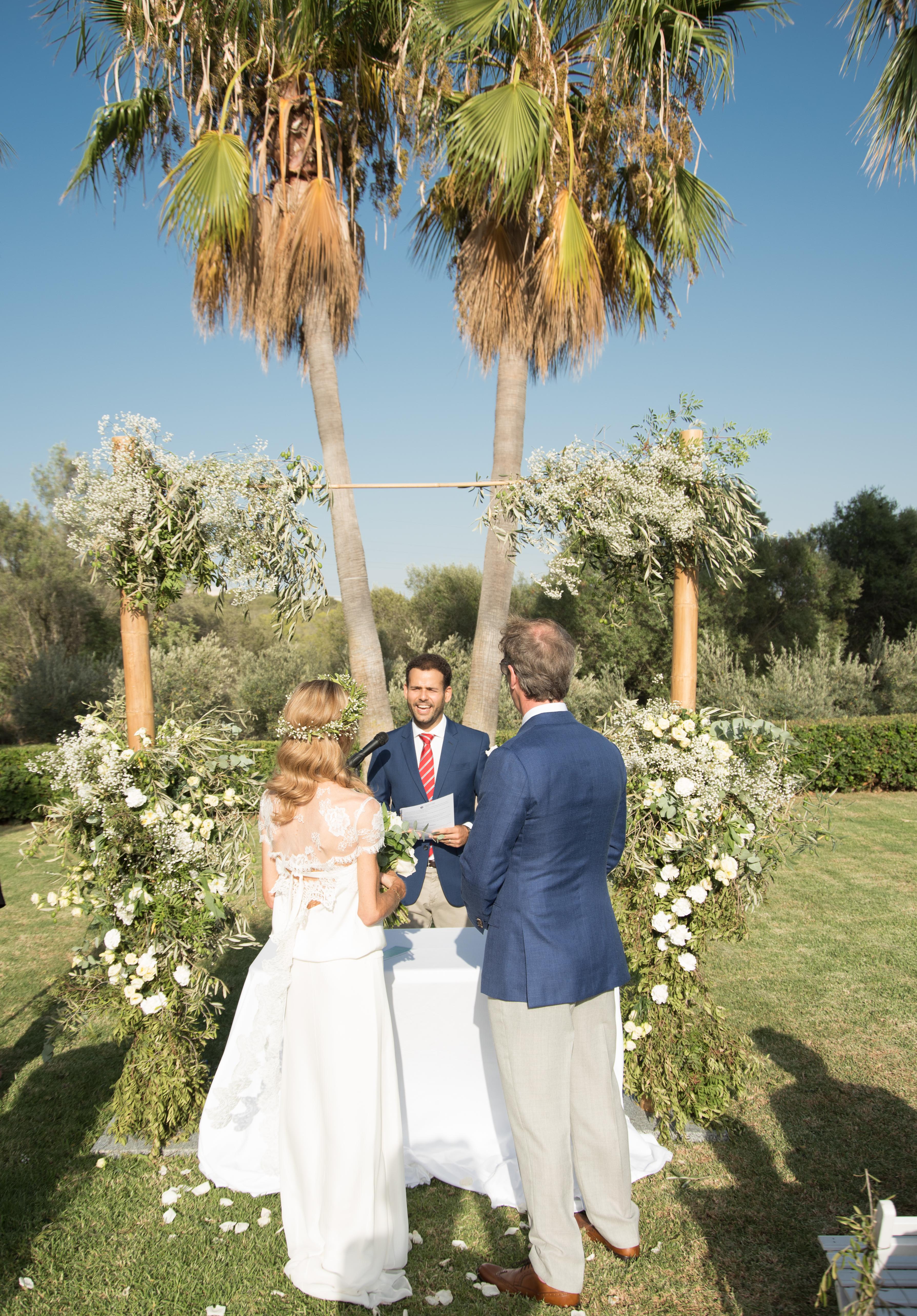 Mallorca Wedding Ceremony