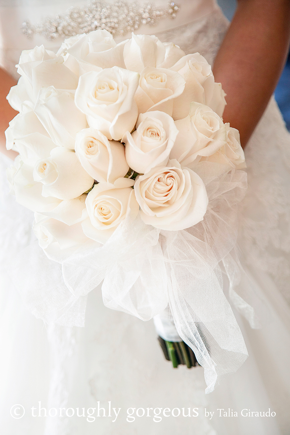 Spanish Wedding Bouquet by Bunches Flowers