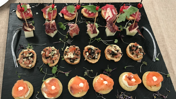 Wedding Quality canapes to taste