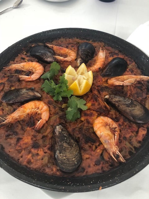 Giant Paella dish