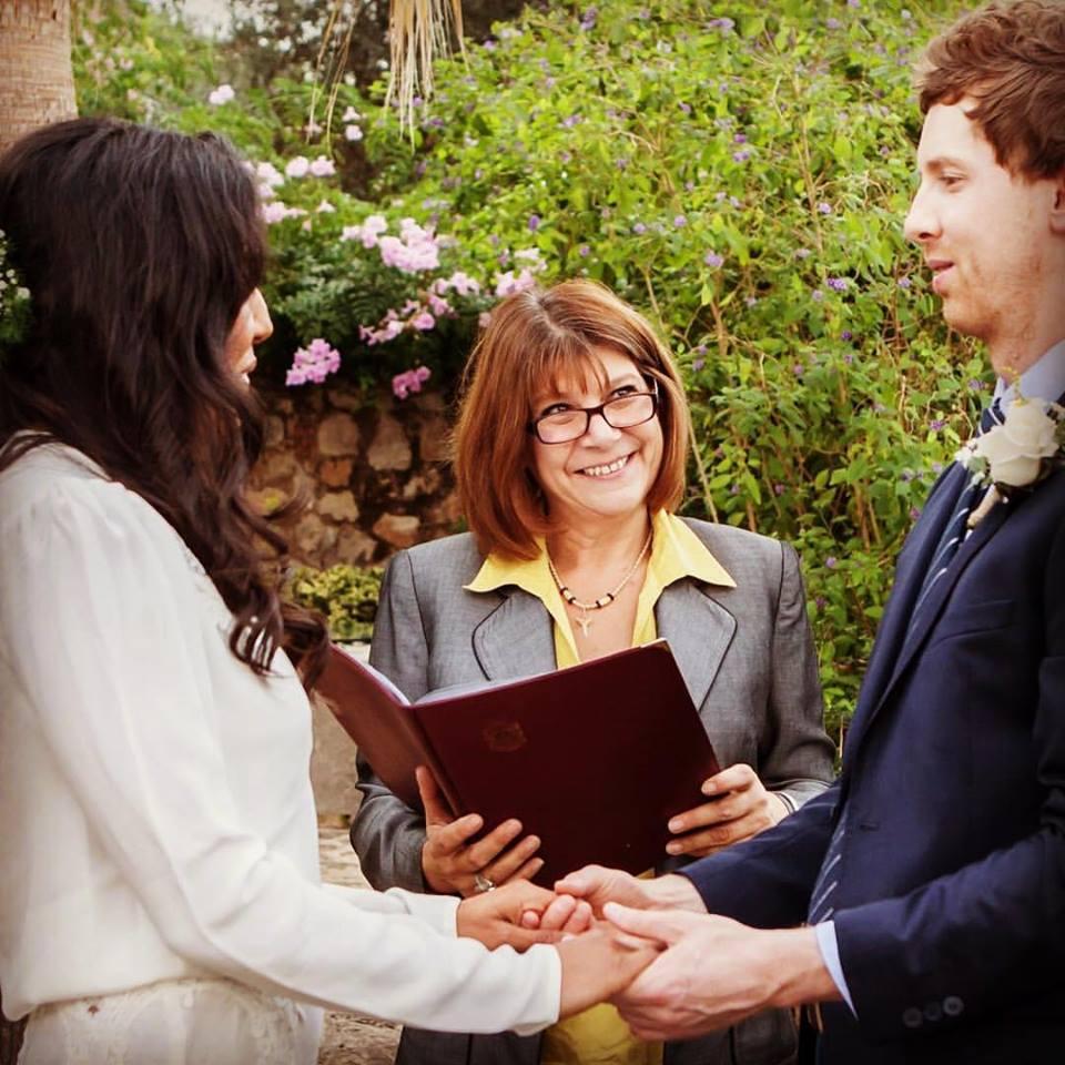 Wedding ceremony in Mallorca Spain