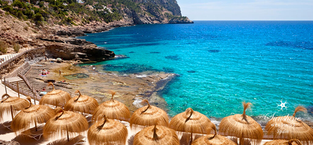 Luxury beach club in Mallorca
