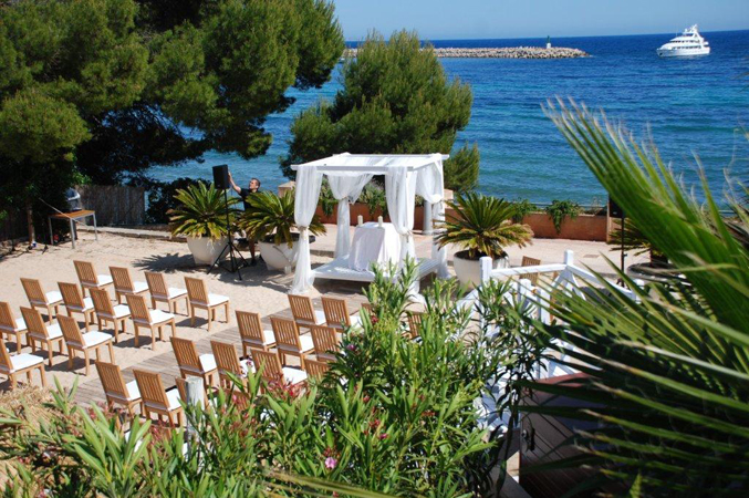 Beach Club Wedding Venue in Spain