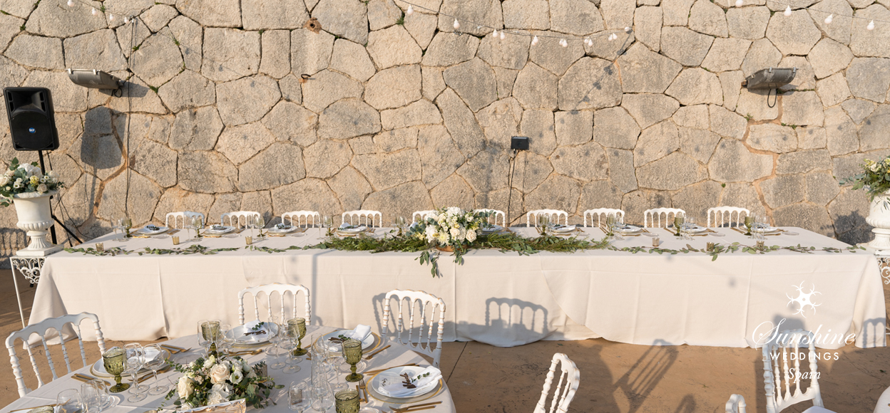 Spanish wedding rustic