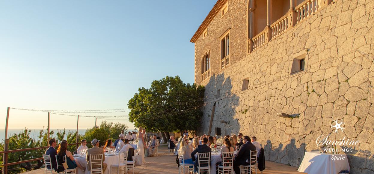 Spanish wedding rustic