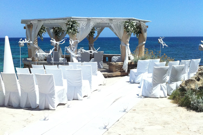 Sea View Wedding Venue Spain