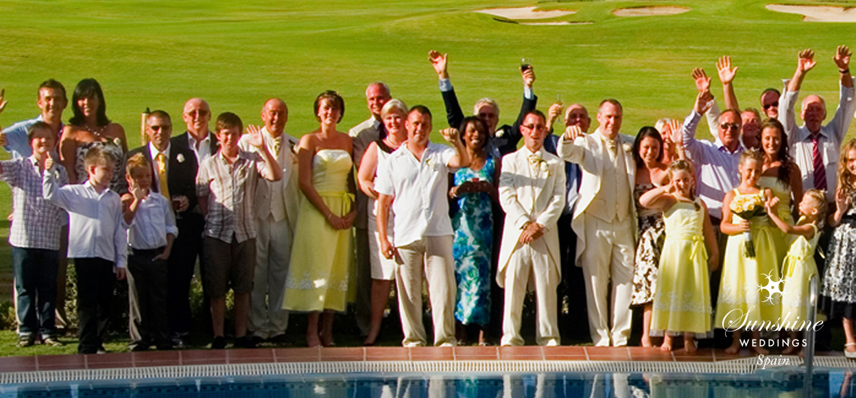 Hotel wedding in Spain