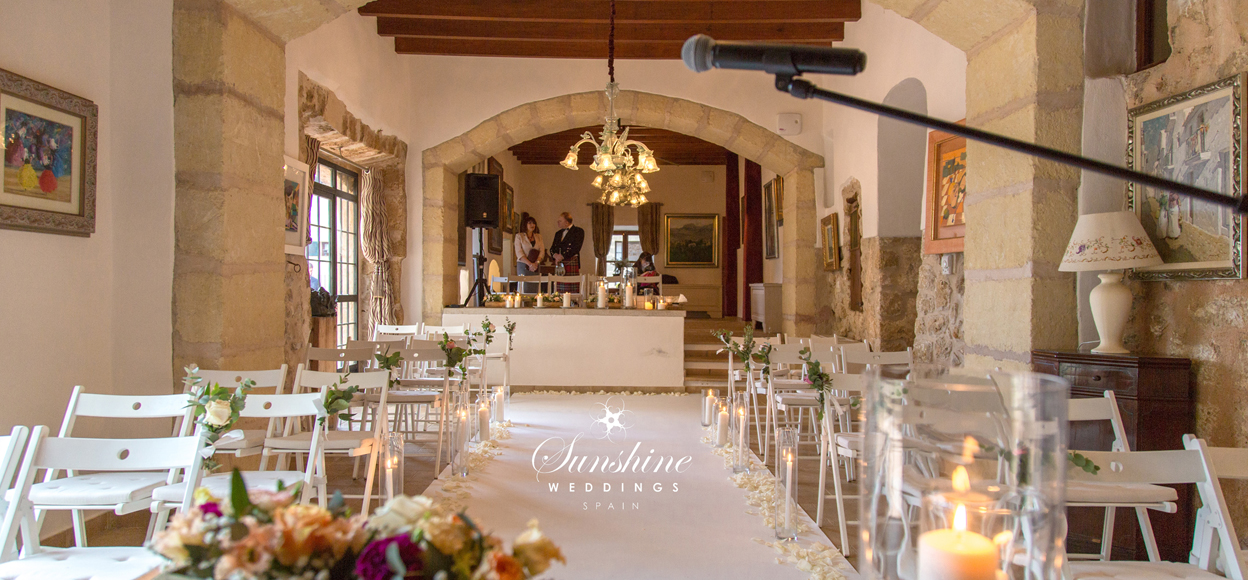 Rustic spanish wedding