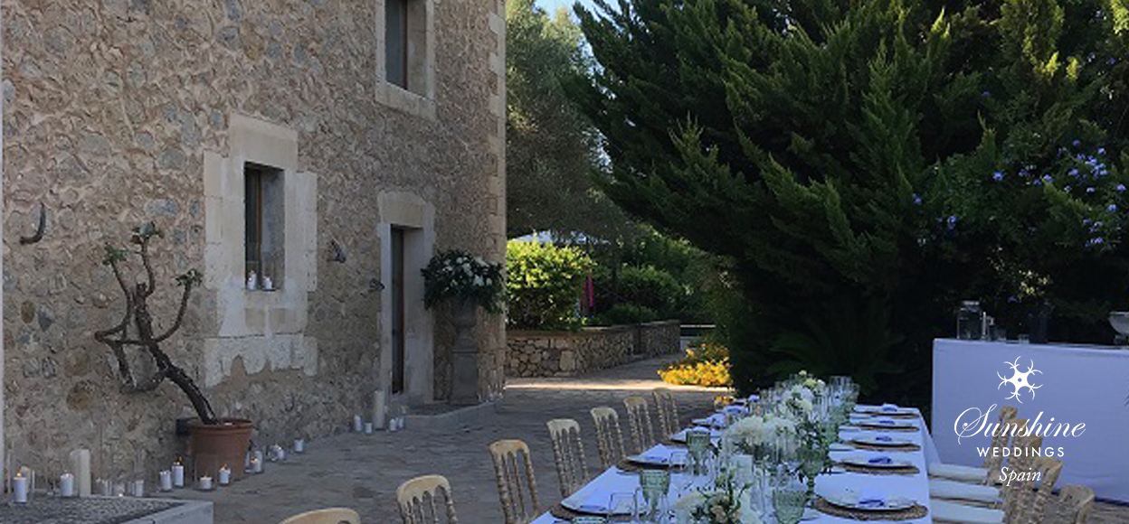 Rustic vineyard wedding Mallorca