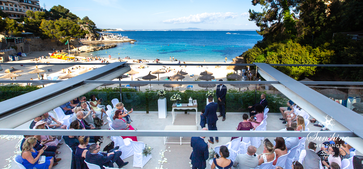 Sea-view wedding Mallorca