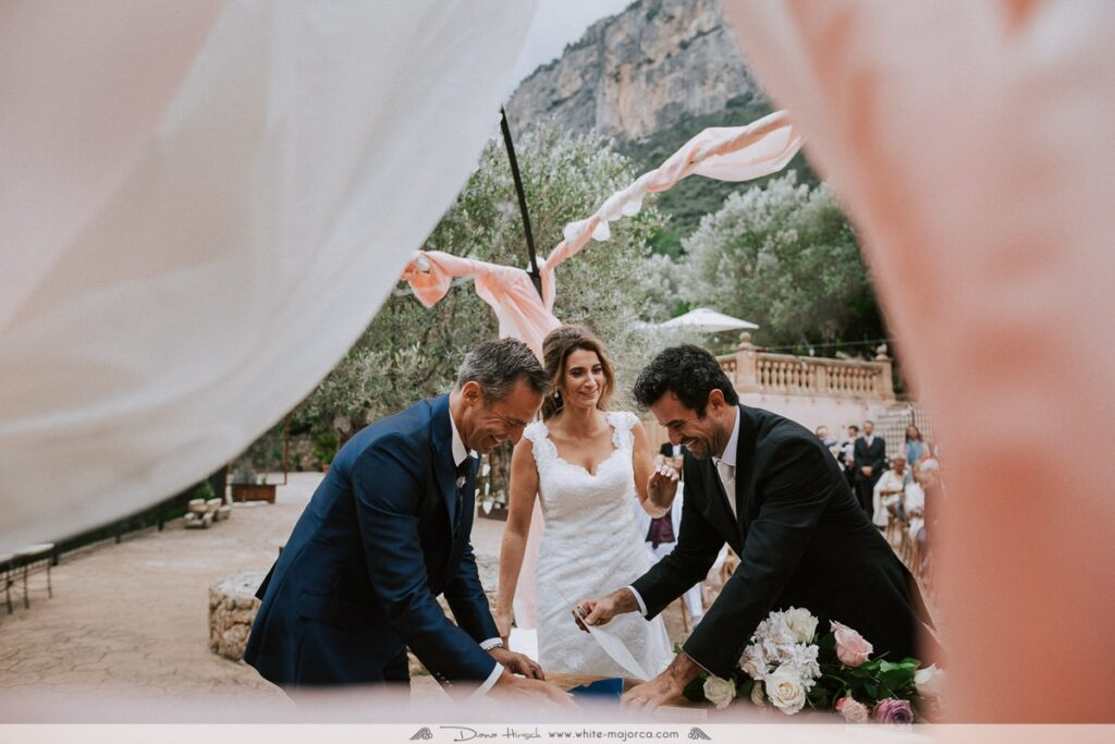 Mallorca Wedding Ceremony