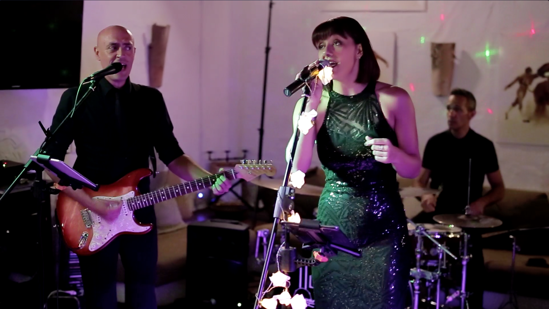 Spanish Wedding Band Lead Singer