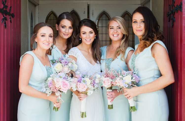 Bridal party make-up courtesy of expert, Nicola Cuddy